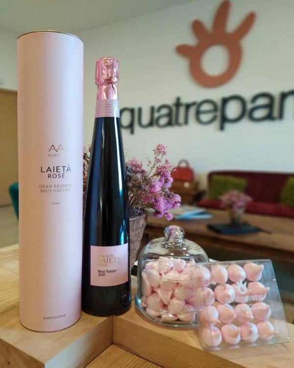 Pink Pack Laietà - Quatrepams